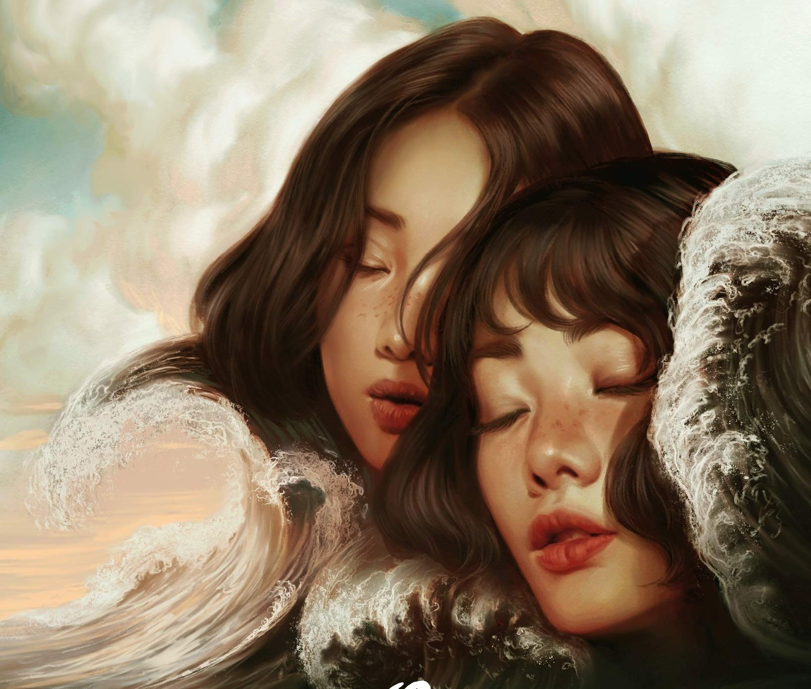 Snippet of the book cover for The Ones We're Meant To Find by Joan He