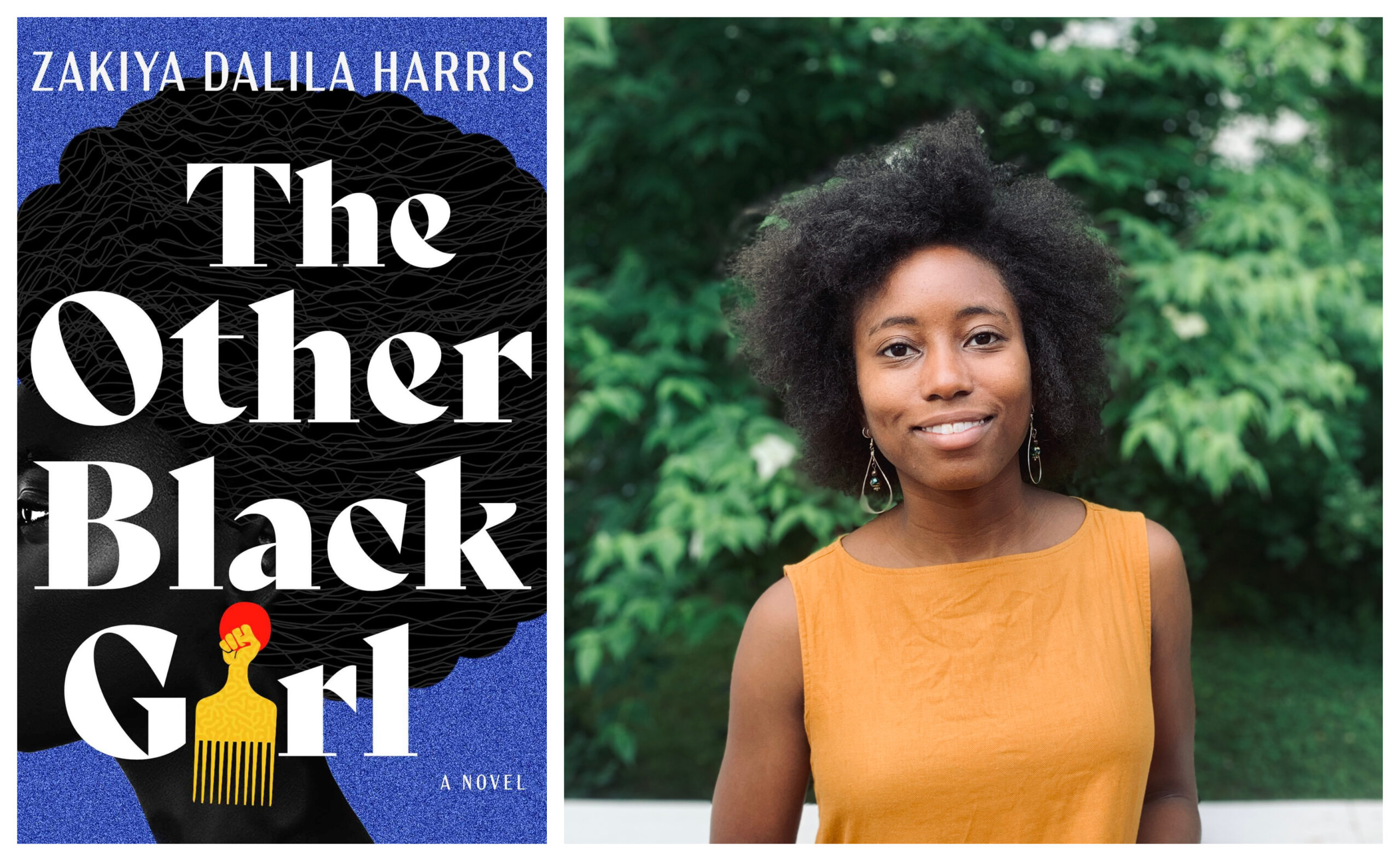 Book cover for The Other Black Girl by Zakiya Dalila Harris