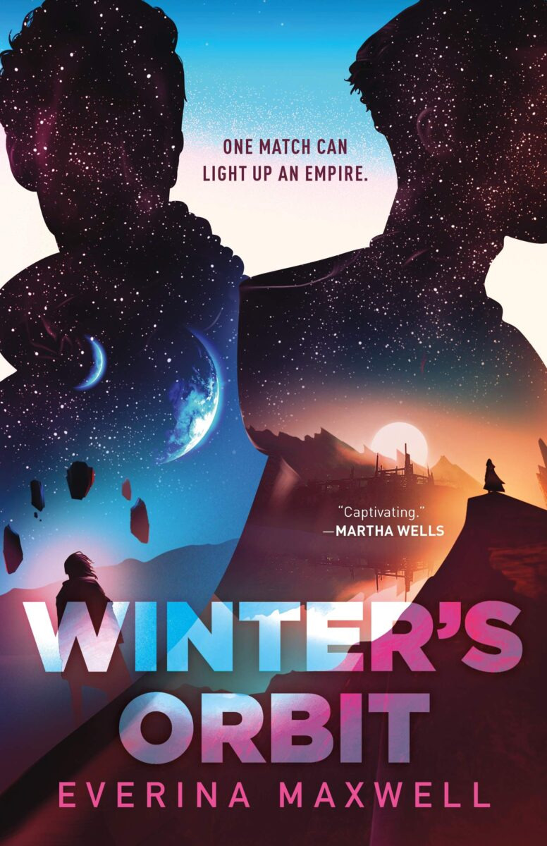 Book cover for Winter's Orbit by Everina Maxwell