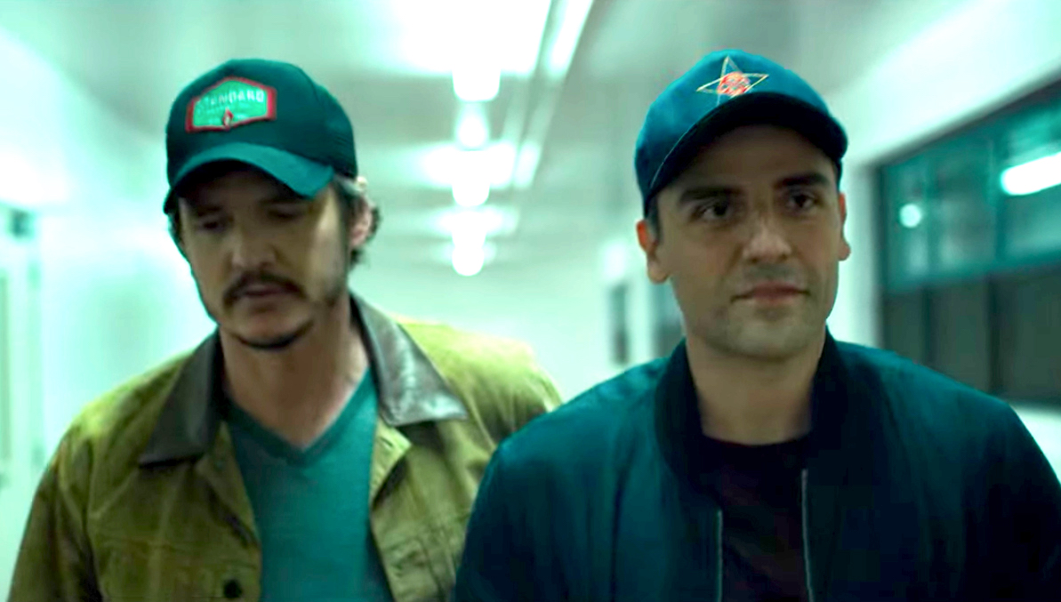 Pedro Pascal and Oscar Isaac in Triple Frontier, a great movie.
