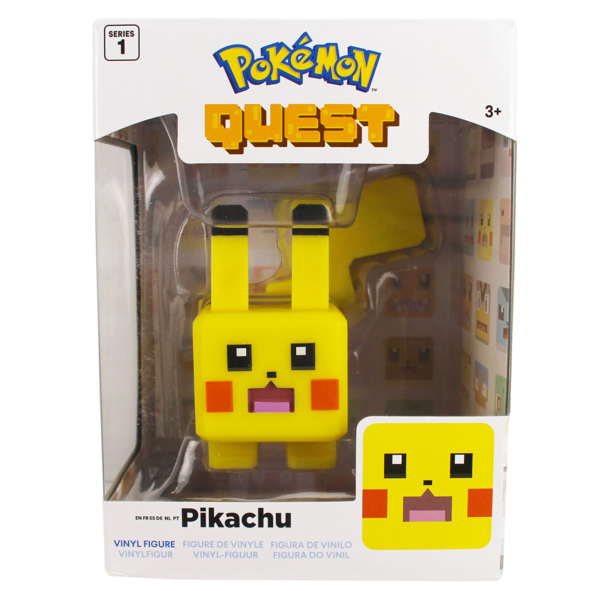 Picture of blocky Pikachu