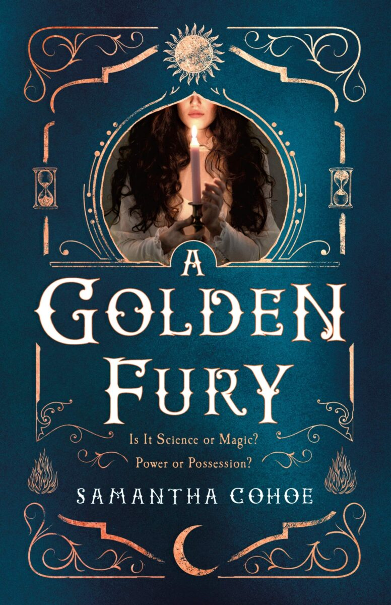 Book cover for A Golden Fury by Samantha Cohoe