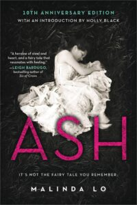 Book cover for Ash by Malinda Lo