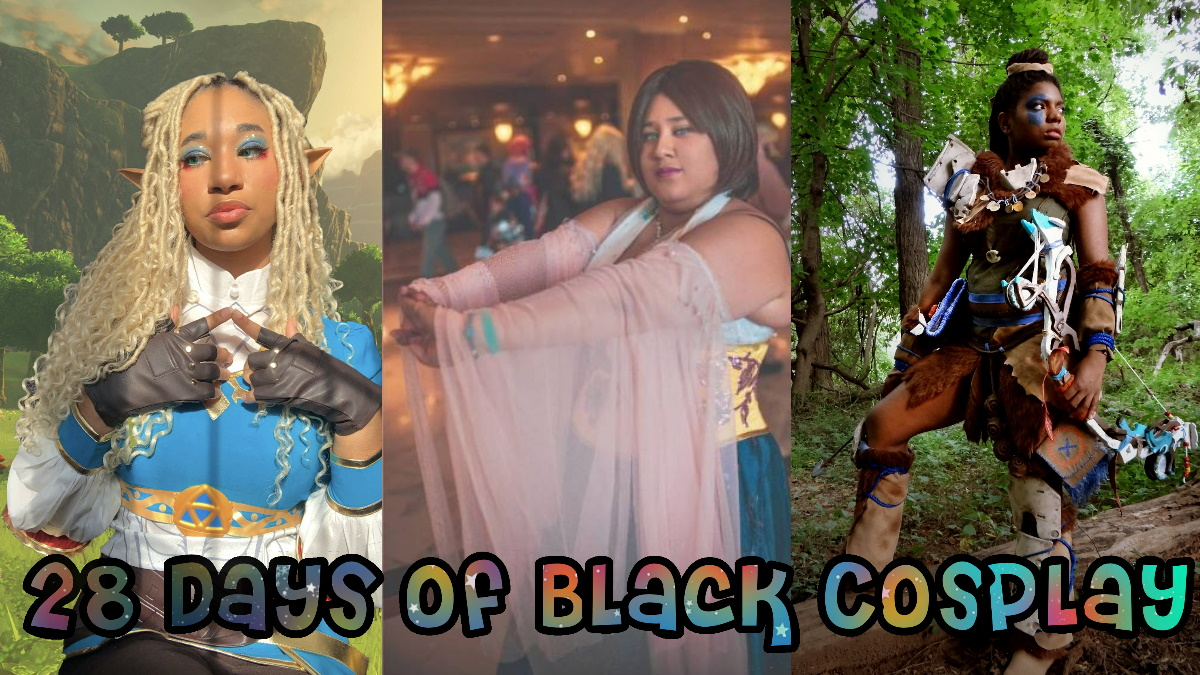 Cosplay of Lyric, LeiLani (Dreams_in_the_noct), and Invisible Wonders