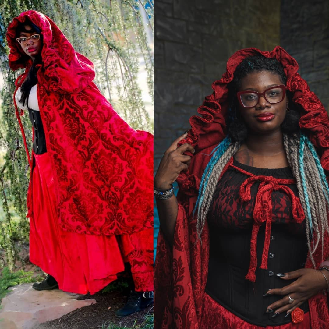 Nyx Wolff as Little Red Riding Hood