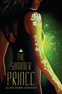 Book cover for The Summer Prince by Alaya Dawn Johnson