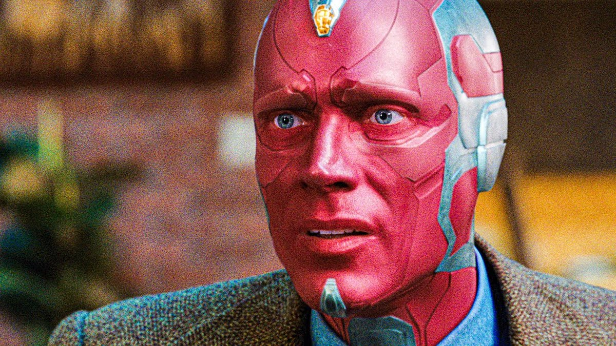 Paul Bettany as the synthezoid Vision on WandaVision