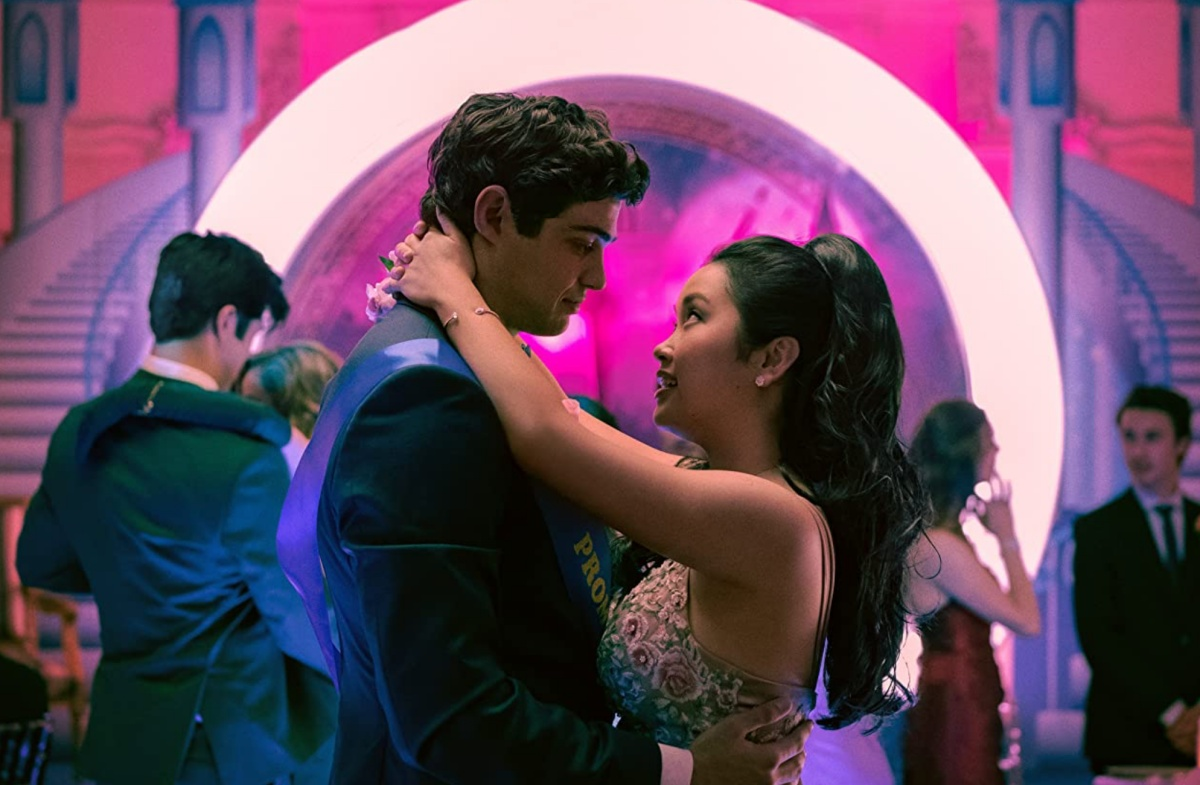 Katie Yu, Noah Centineo, Ross Butler, and Lana Condor in To All the Boys: Always and Forever (2021)