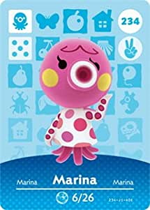 Amiibo card of Marina