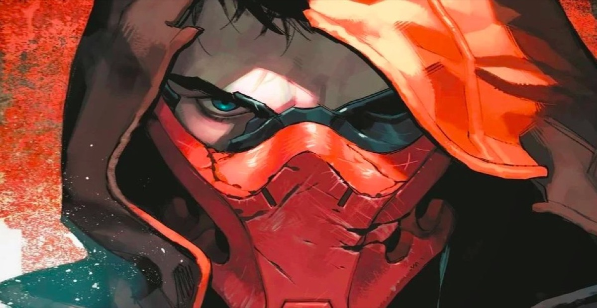 Jason Todd as the Red Hood in DC Comics.