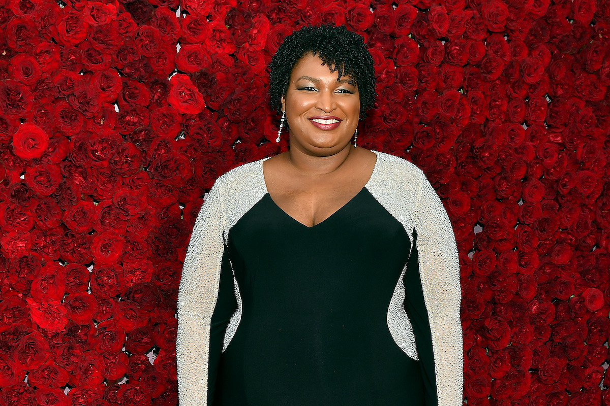 Stacey Abrams attends Tyler Perry Studios grand opening gala