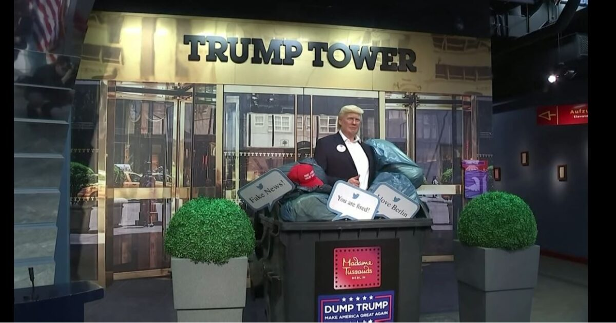 People Can't Stop Punching This Wax Figure of Donald Trump and Who Can Blame Them?