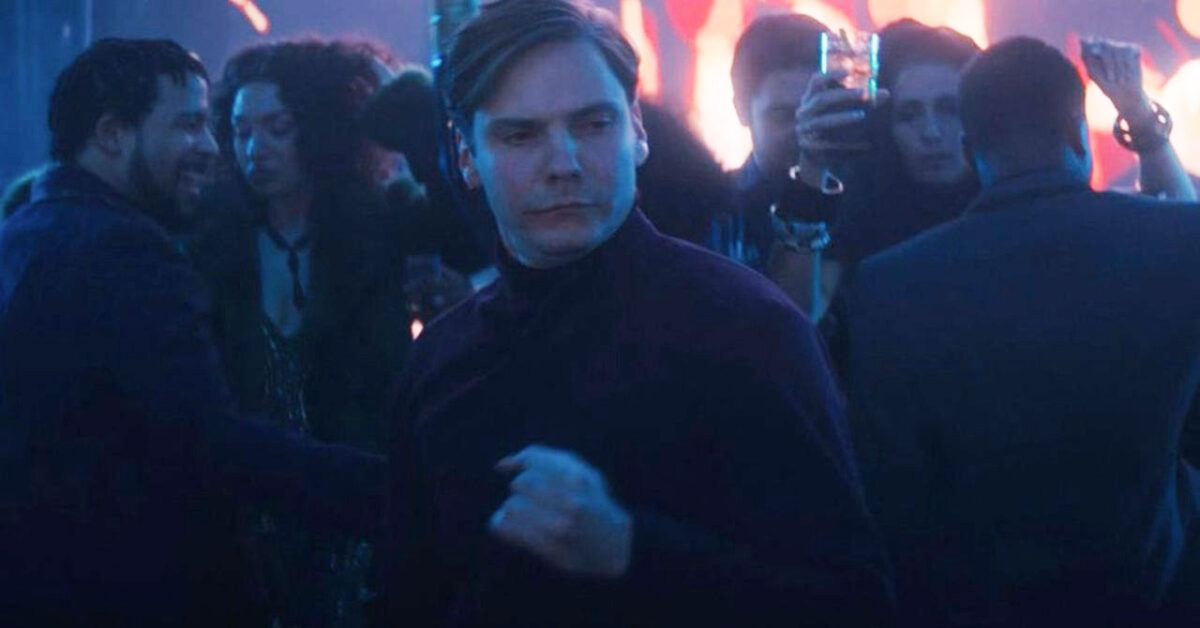 Baron Zemo dancing on Falcon and the Winter Soldier
