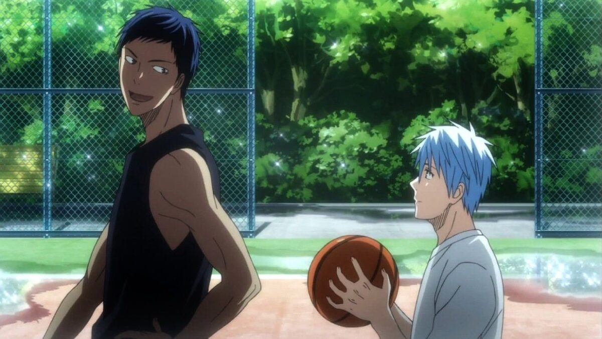 Aomine and Kuroko playing again