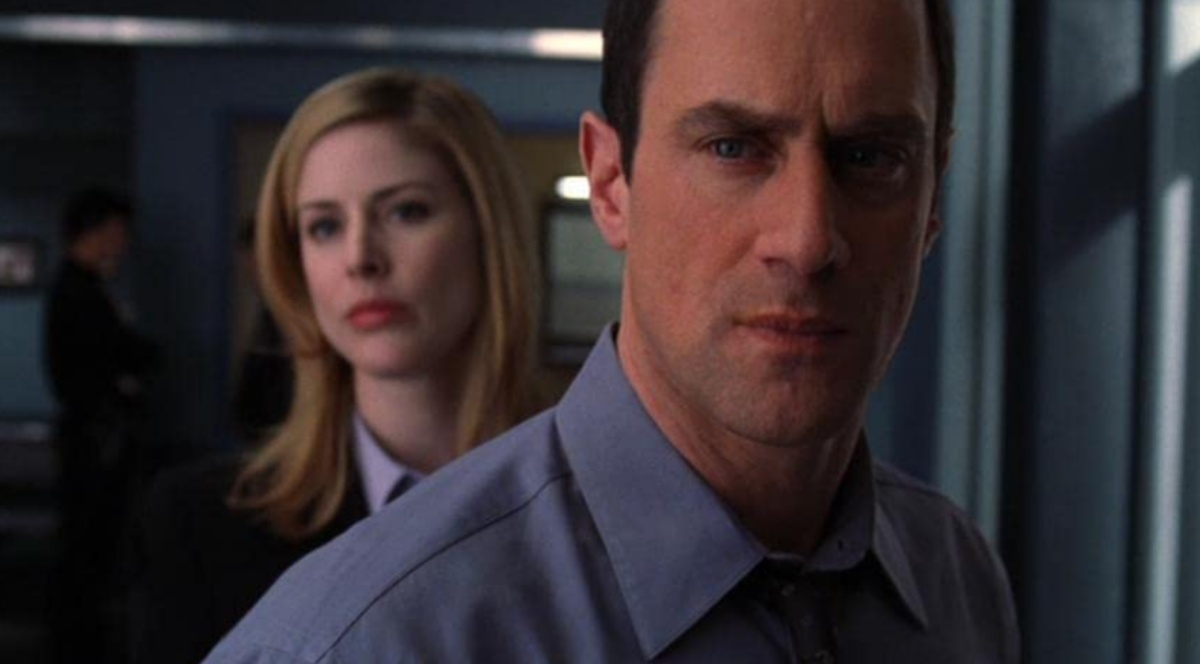 Christopher Meloni and Diane Neal in Law & Order: Special Victims Unit (1999)