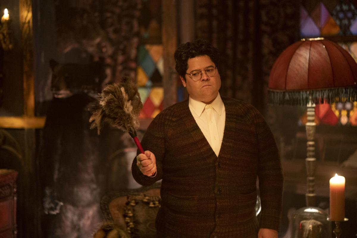 Harvey Guillén as Guillermo in What We Do In The Shadows