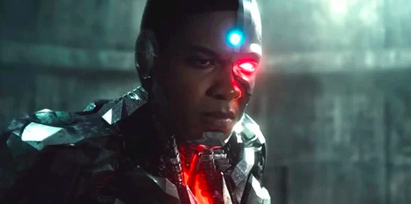 Ray Fisher as Cyborg in Justice League.