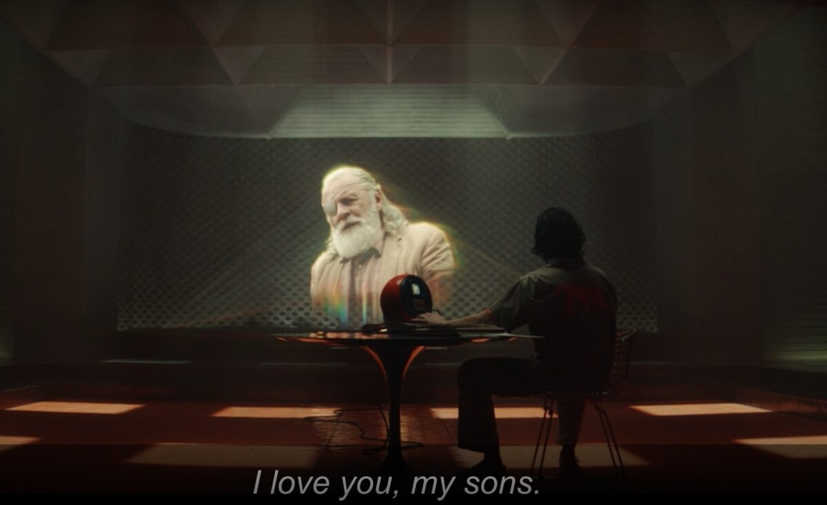 Odin tells Thor and Loki that he loves them