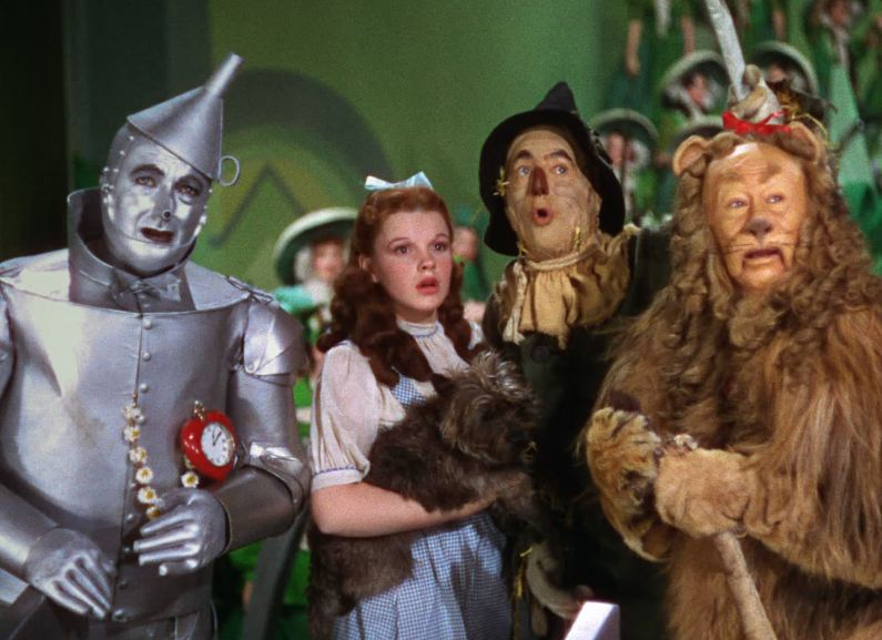 Wizard of Oz main characters