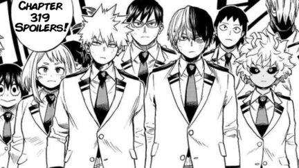BNHA Chapter 319