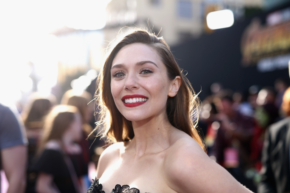"""Los Angeles Global Premiere for Marvel Studios' """"Avengers: Infinity War"""" HOLLYWOOD, CA - APRIL 23: Actor Elizabeth Olsen attends the Los Angeles Global Premiere for Marvel Studios' Avengers: Infinity War on April 23, 2018 in Hollywood, California. (Photo by Rich Polk/Getty Images for Disney)"""
