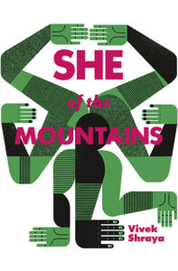 """""""She of the Mountains"""" book cover. (Image: Arsenal Pulp Press.)"""