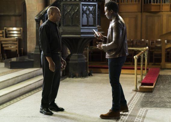 Joe Morton, Brandon Micheal Hall